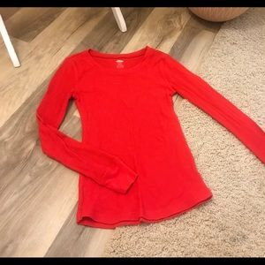 Red Long-sleeve Thermal